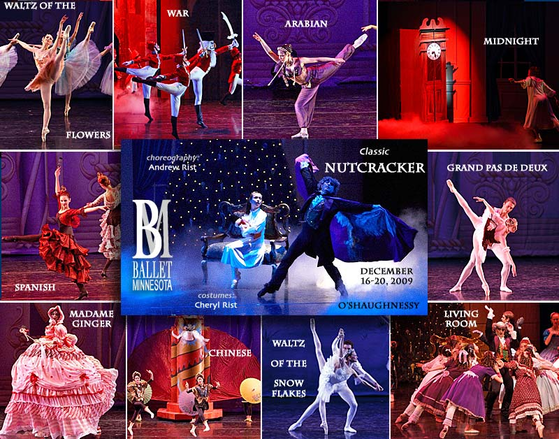 Classic Nutcracker Collage